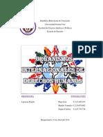 Organismos Internacionales. Derecho Internacional. M612. Caribay Segura, Yannelys Mariño, Jose Daza.