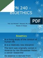 Lpn 240 - Bioethics