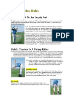 flicks 8 golden rules to a better swing