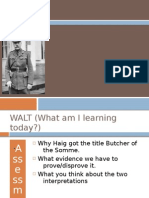 Does haig deserve the title 'butcher of