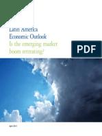 Latin America Economic Outlook