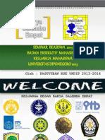 Seminar Beasiswa 2013