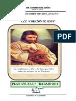 Plan Anual de Trabajo de IE.