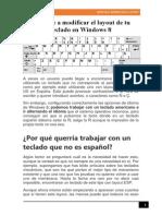 Aprende a Modificar El Layout de Tu Teclado en Windows 8