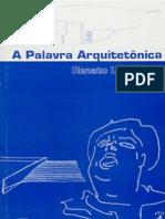 A Palavra Arquitetonica