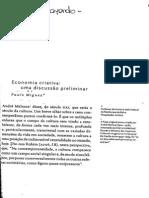 Miguez 2007 - Economia Criativa