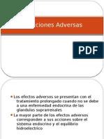 CorticosteroidesReacciones Adversas
