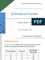 Economia Do Turismo - Caderno Teórico Nº 4
