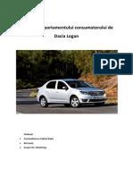 Studiul Comportamentului Consumatorului de Dacia Logan