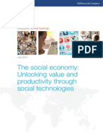 MGI the Social Economy Executive Summary