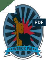 Wreck FM Pinup Badge