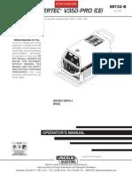 Inverec V350-PRO Operators Manual