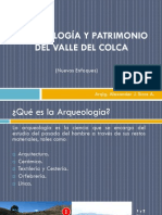 Arqueología y Patrimonio Del Valle Del Colca