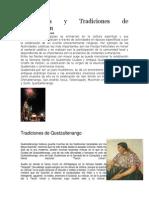 Costumbres y Tradiciones de Totonicapán