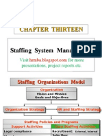 Ppt on Staffing System Management
