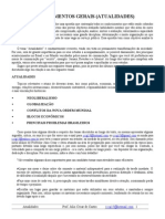 01. Apostila de Atualidades - Prof. Júlio César