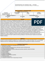 PEA - Controle Metrológico de Produtos e Processos-2014