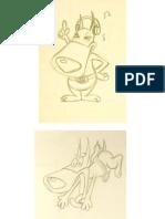 Character / Expression Sheets - Dark Dog