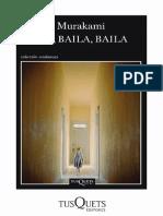 Haruki Murakami - Baila Baila Baila - Lecturas