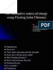 flaoting solar chimney ppt