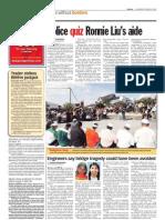 thesun 2009-10-29 page04 police quiz ronnie lius aide