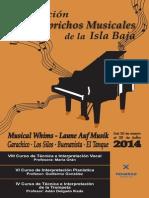 Revista Los Caprichos Musicales 2014