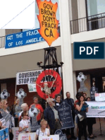 The Battle to Ban Fracking in California