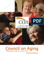 2013 Council on Aging Annual Report