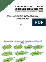 Reglamento Evaluacion 22 de Enero 2014