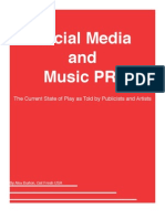 Social Media and Music PR