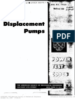 ASME PTC 7.1-1962 Displacement Pumps