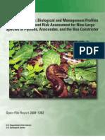 Giant Constrictors Risk Assessment
