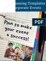 Event Planning Templates for Corporate Events