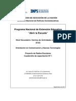 Cuadernilo Radios Escolares Con Anexo Versión Final