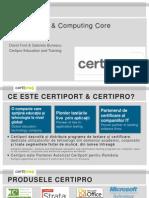 Certipro Presentation Turnu Severin 10 Sep 2013