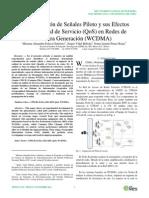 Contaminación de Señales Piloto y Sus Efectos en La Calidad de Servicio (QoS) en Redes de Tercera Generación (WCDMA)