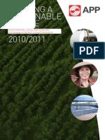 APP Sustainability Report 2010-2011