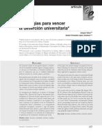 Vélez - Estrategias Para Vencer La Deserción