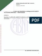 Norma Brasileira Abnt Nbr 14136-2012 - Errata 3