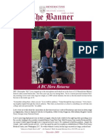BC- Benedictine Military School November Banner Publication