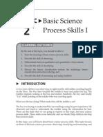 Topic 2 Basic Science Process Skills I