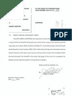 Washington vs Horton lawsuit