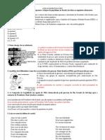 Lista de exerício II COM GABARITO