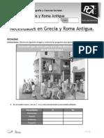 AE 1 Necesidades en Grecia y Roma Antigua Historia Cuartos Basicos