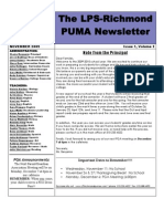 Puma News Nov 2009