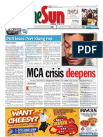 thesun 2009-10-30 page01 mca crisis deepends