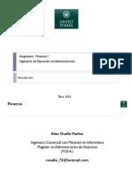 Finanzas Unidad I - Administración Financiera - Clase 1