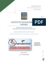 CONGRESO REGIONAL DE EDUCACION DE ITSON DES-NAVOJOA