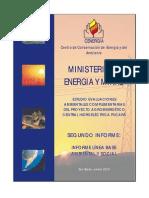 Segundo Informe Linea Base Social 01-01-10
