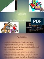 language arts clauses ishani